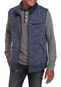 Boys 8-20 Fleece Sweater Vest