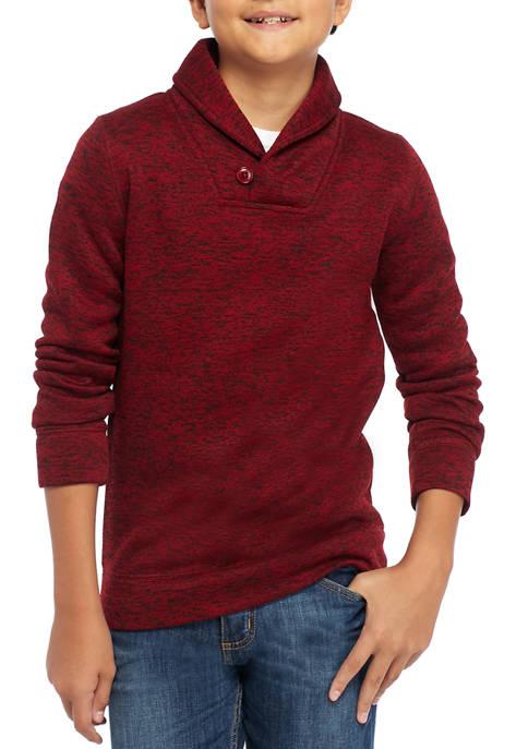 Crown & Ivy™ Boys 8-20 Shawl Collar Fleece