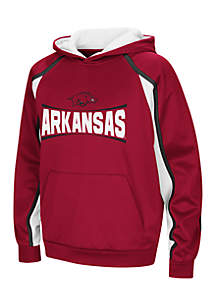 Boys 8-20 Arkansas Razorbacks Hook and Lateral Pullover Hoodie