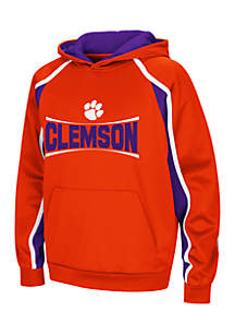 Boys 8-20 Clemson Hook and Lateral Pullover Hoodie