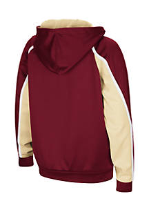097ac80fa2 ... Colosseum Athletics Boys 8-20 Florida State Seminoles Hook and Lateral  Pullover Hoodie
