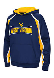 Boys 8-20 West Virginia Mountaineers Youth Hook And Lateral Pullover Hoodie