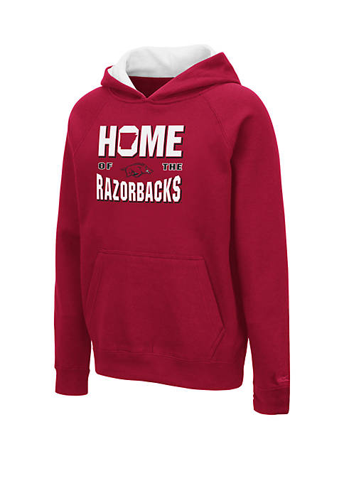 Colosseum Athletics Boys 8-20 NCAA Arkansas Razorbacks Pesto