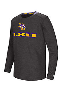 LSU Tigers Youth Waffle Long Sleeve Tee