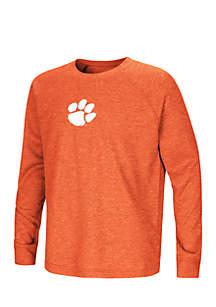 Boys 8-20 Clemson Tigers Long Raglan Sleeve Tee