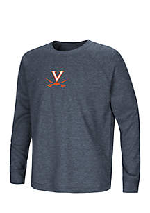 University Of Virginia Youth Viper Vennao Long Sleeve Raglan Tee