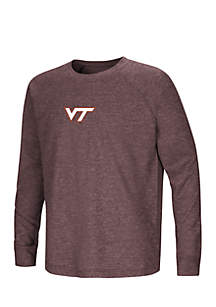 Virginia Tech Hokies Viper Raglan Tee