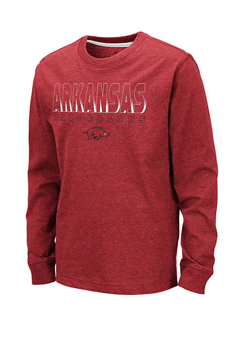 Boys 8-20 NCAA Arkansas Razorbacks Zort Long Sleeve T-Shirt
