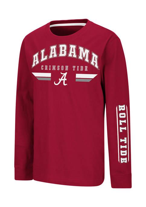 Colosseum Athletics Boys 8-20 NCAA Alabama Crimson Tide