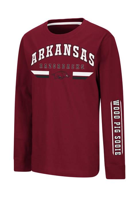 NCAA Arkansas Razorbacks Long Sleeve T-Shirt
