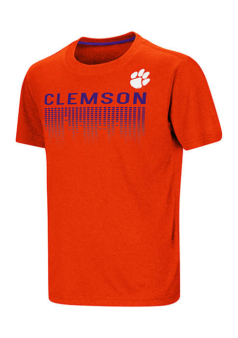 Colosseum Athletics Youth Clemson Tigers Short Sleeve Benny