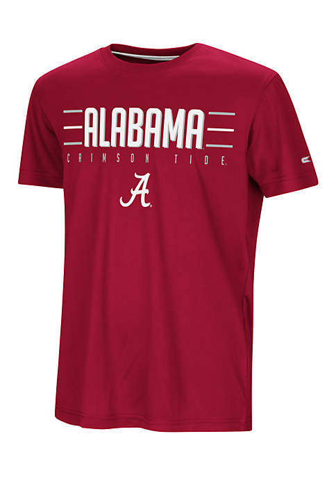 Colosseum Athletics Boys 8-20 Alabama Short Sleeve Anytime