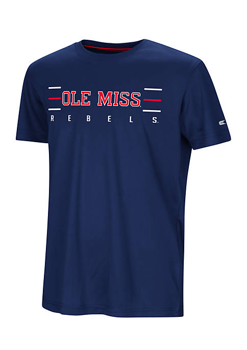 Colosseum Athletics Youth Ole Miss Short Sleeve Anytime