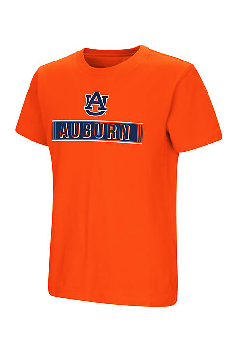 Colosseum Athletics Boys 8-20 Short Sleeve Auburn Talk