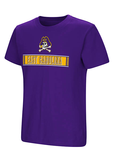 Colosseum Athletics Youth Boys Short Sleeve East Carolina