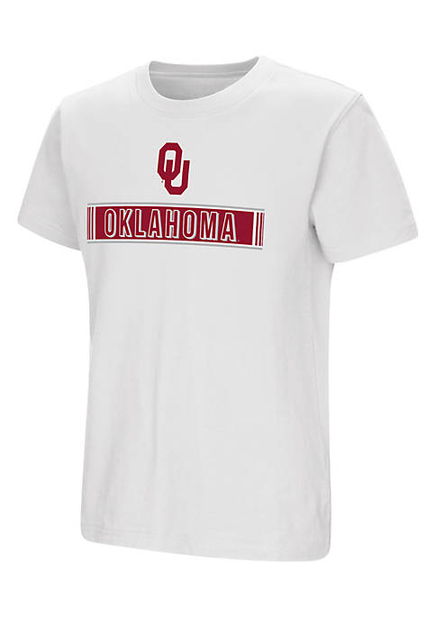 Colosseum Athletics Youth Boys Short Sleeve Oklahoma University