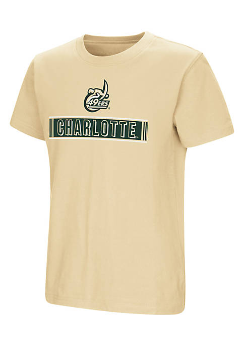 Colosseum Athletics Youth Boys Short Sleeve UNC Charlotte