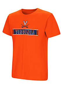 Youth Boys Short Sleeve University Of Virginia Talk To Talk Tee