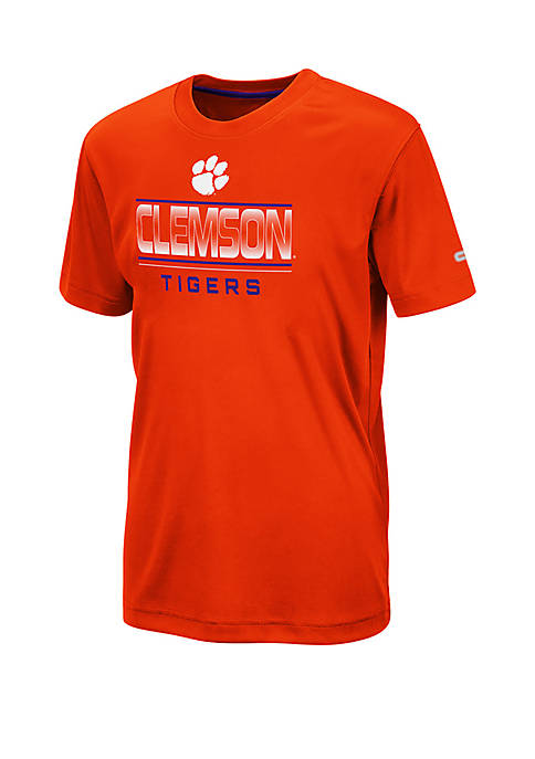 Colosseum Athletics Boys 8-20 Clemson Tigers Skippy T