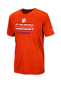 Colosseum Athletics Boys 8-20 Clemson Tigers Skippy T Shirt