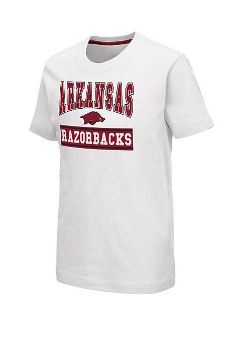 Colosseum Athletics Boys 8-20 Arkansas Razorbacks Dadoo T