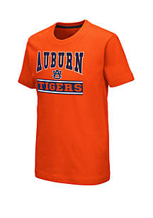 Colosseum Athletics Boys 8-20 Auburn Tigers Dadoo Short Sleeve T Shirt