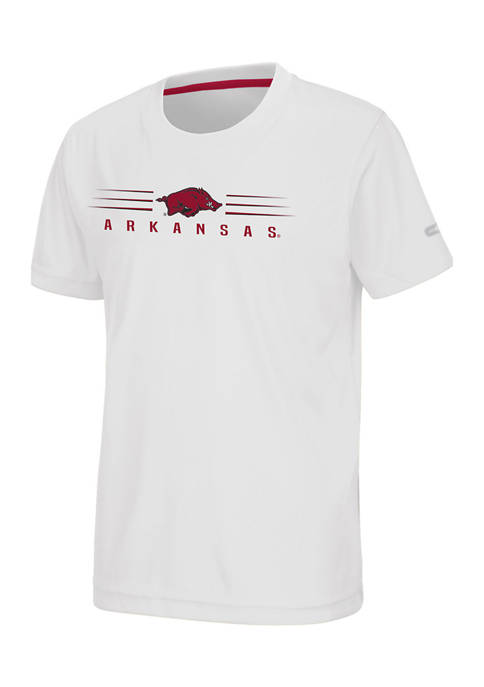 Colosseum Athletics Boys 8-20 NCAA Arkansas Razorbacks T-Shirt
