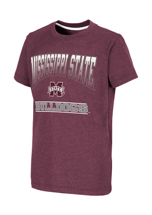 Boys 8-20 NCAA Mississippi State Bulldogs Toffee Graphic T-Shirt