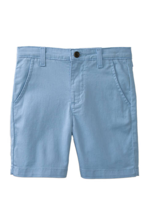 Crown & Ivy™ Boys 4-8 Twill Light Blue