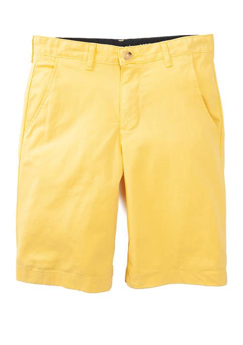 Crown & Ivy™ Boys 8-20 Twill Shorts