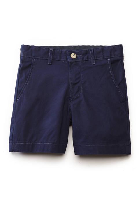 Boys 8-20 7 Inch Motion Flex Twill Shorts
