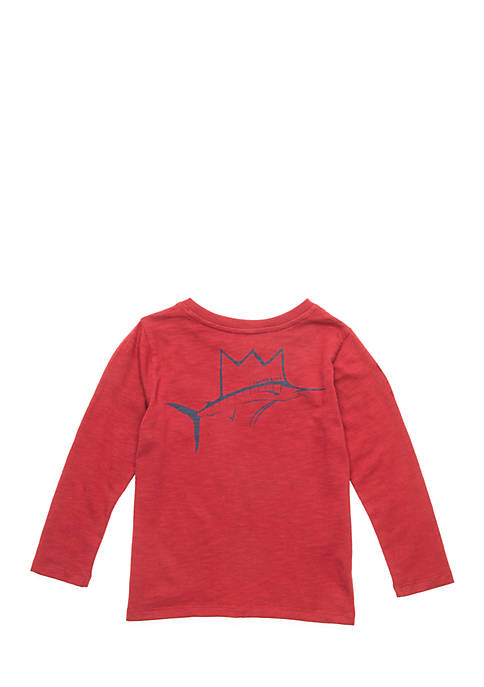 Crown & Ivy™ Infant Boys Long Sleeve Knit