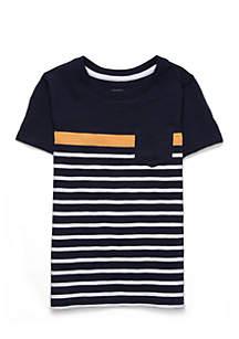 Boys 4-8 Short Sleeve Tee with Pocket
