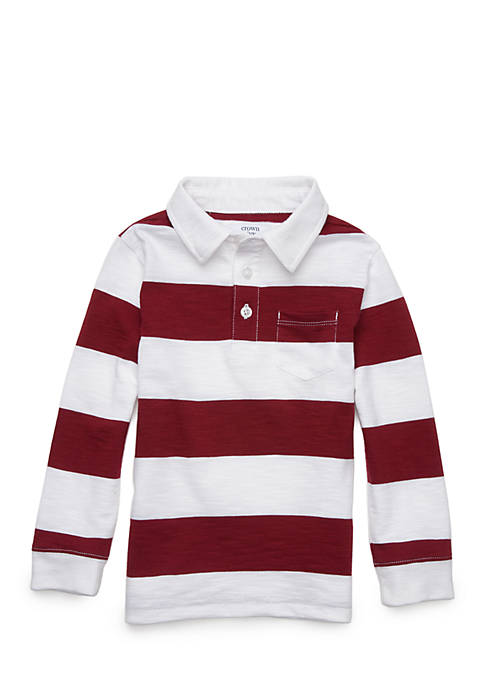 Crown & Ivy™ Boys 4-8 Polo Pocket Shirt