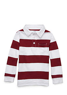 Boys 4-8 Polo Pocket Shirt