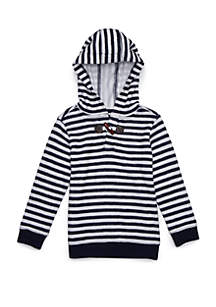 Boys 4-8 Pullover Hoodie with Toggle