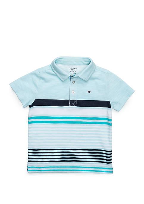 Boys 4-8 Short Sleeve Polo