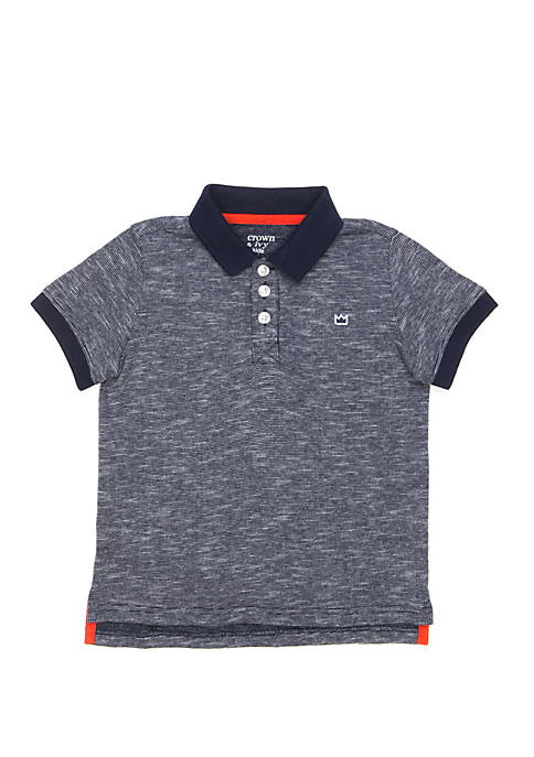 Crown & Ivy™ Boys 4-7 Polo Shirt with