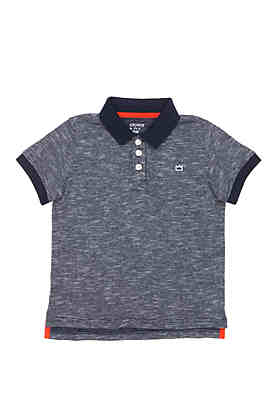 7eca2725b Crown & Ivy™ Boys 4-7 Polo Shirt with Flat Knit Collar ...