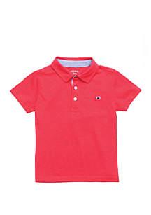 Crown & Ivy™ Boys 4-8 Short Sleeve Polo Shirt