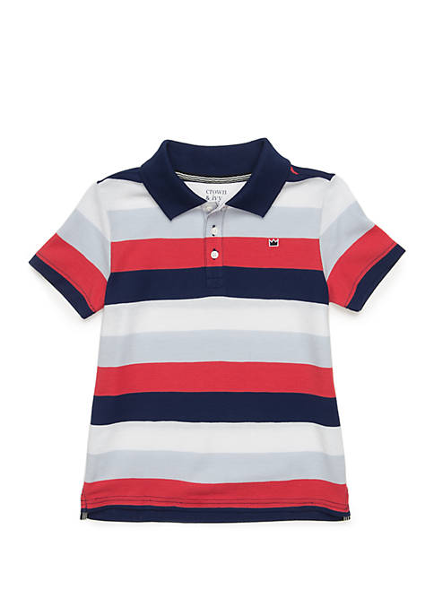 Crown & Ivy™ Boys 4-8 Polo Shirt with