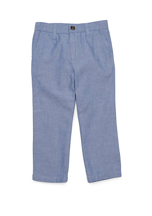 Crown & Ivy™ Boys 4-8 Flat Front Pants