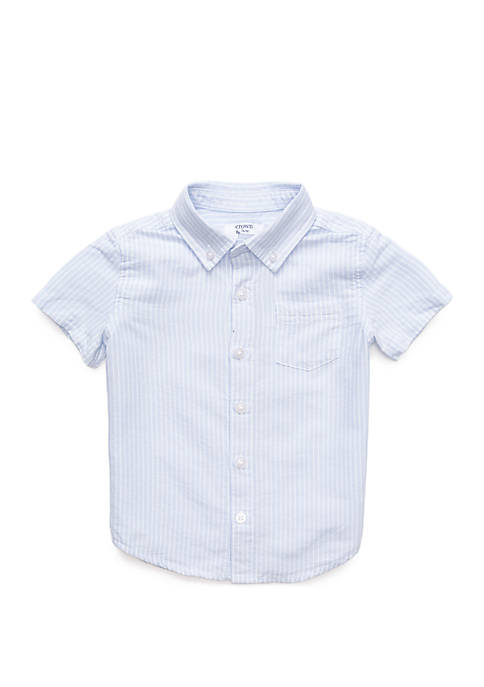 Crown & Ivy™ Boys 4-8 Short Sleeve Pocket