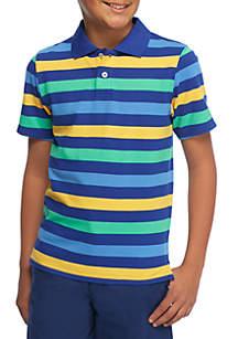 Boys 8-20 Stripe Polo