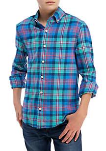 Crown & Ivy™ Boys 8-20 Long Sleeve Flannel Shirt