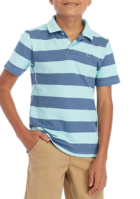 Crown & Ivy™ Boys 8-20 Short Sleeve Party
