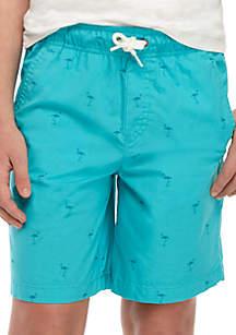 Crown & Ivy™ Boys 8-20 Printed Deck Shorts