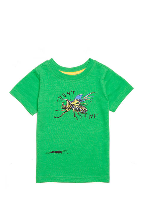 Lightning Bug Boys 4-8 Short Sleeve Graphic Tee