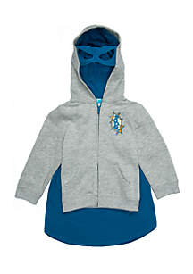 Boys 4-10 Elevated Zip Hoodie
