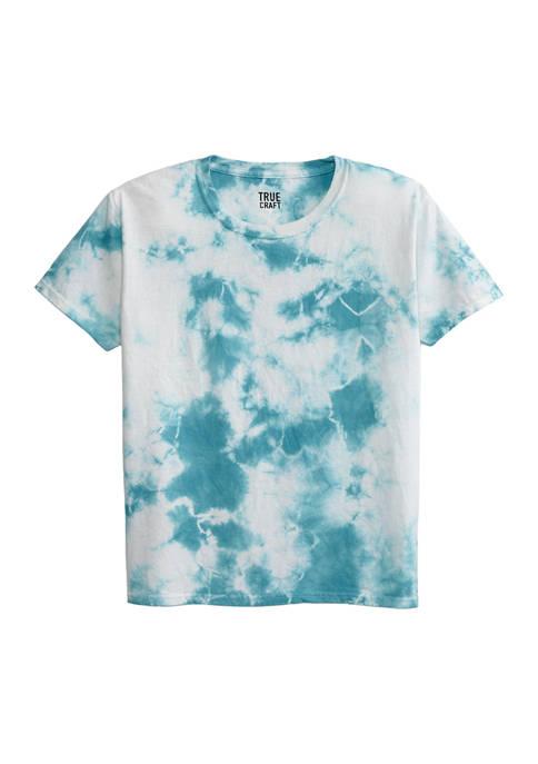 Boys 8-20 Ice Wash Tie Dye T-Shirt